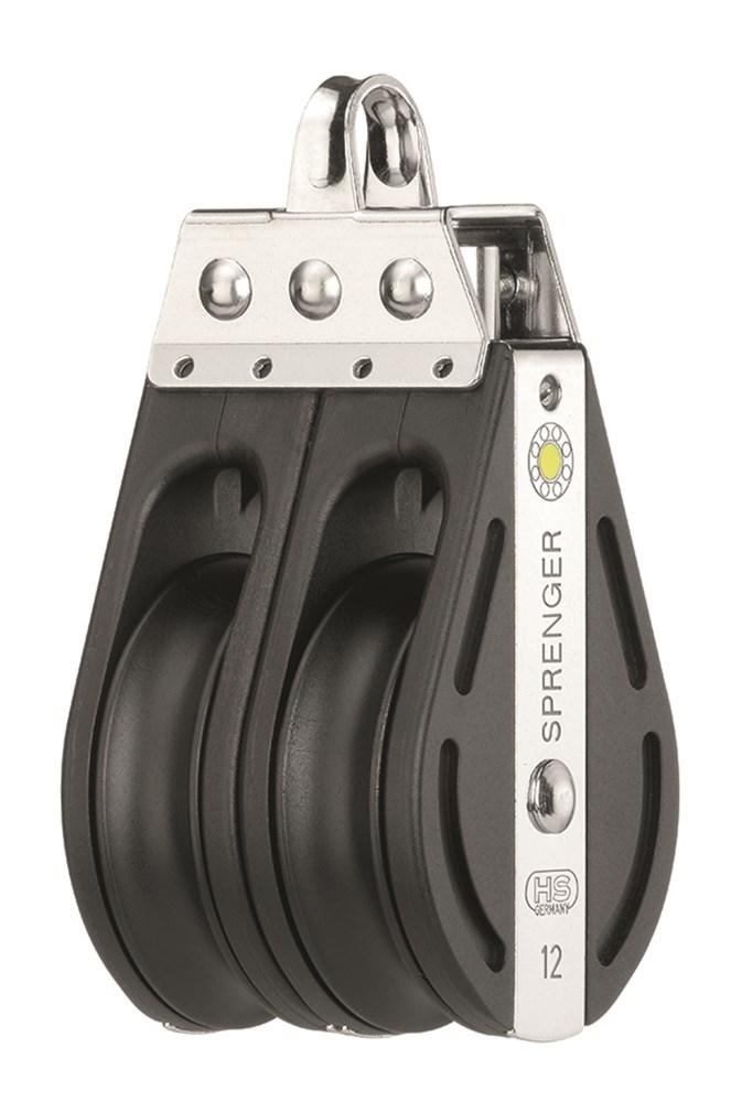 Sprenger S-Block 12mm mit Gleitlager