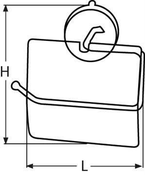 One-Touch Toilettenpapierhalter