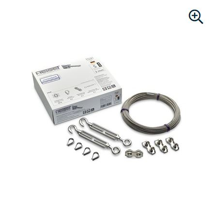 Wire rope set