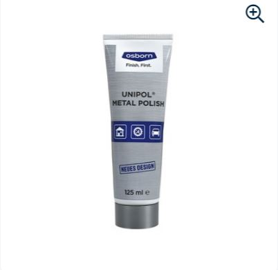 Metal polish paste Unipol blue