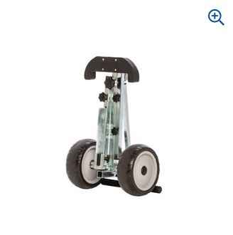 Motor trolley, foldable